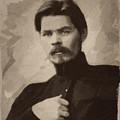 Maxim Gorky by Afterdarkness