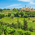 Medieval Town Of San Gimignano, Tuscany, Italy by JR Photography