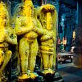 Meenakshi Temple Madurai India by Raimond Klavins
