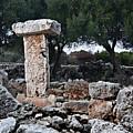 Megalithic Taula In Binisafua Menorca Bronze Age by Pedro Cardona Llambias