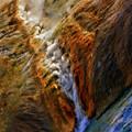 Midway Geyser Basin Stream by Blake Richards