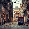 Milan Street Tram by Songquan Deng