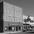 Miles City, Montana - Downtown 2 Bw by Frank Romeo
