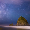 Milky Way Over Canon Beach by Rowdy Winters