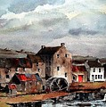 Mill At Bruree, Limerick by Val Byrne