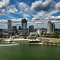 Milwaukee Wisconsin by Mountain Dreams
