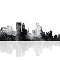 Minneapolis Minnesota Skyline by Marlene Watson
