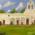 Mission San Juan by Cheryl Damschen
