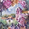 Mission Vineyard by Joan  Jones