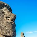 Moai Closeup by Jess Kraft