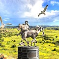 Modern Horse Statue by Pemaro