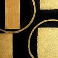 Modern Shapes Gold by Marsha Heiken
