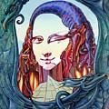 Mona Lisa. Fire by Victor Molev