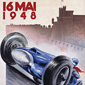 Monaco Grand Prix 1948 by Nostalgic Prints