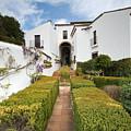 Mondragon Palace And Gardens In Ronda by Aivar Mikko