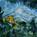 Mont Sainte-victoire And Chateau Noir by Paul Cezanne