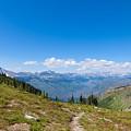 Montana-glacier National Park-highline Trail by Arlene Waller