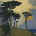 Monterey Cypress by Arthur Frank Mathews