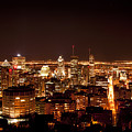 Montreal At Night by Martin Rochefort