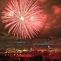 Montreal Fireworks Celebration  by Pierre Leclerc Photography
