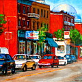 Montreal Paintings by Carole Spandau