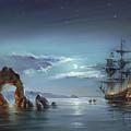 Moonlight Night by Roman Romanov
