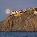 Moonset Over Pedregal by Frankie Grant