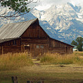 Mormon Row Barn by Ann Keisling