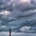 Morris Island Lighthouse by Erika Fawcett