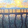 Mosiac Pier by Sheryl  Sutherland