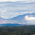 Mosquito Range Mountains In Storm Clouds by Steve Krull