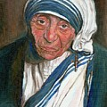 Mother Teresa by Carole Spandau