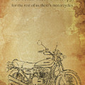 Motorcycle Quote by Drawspots Illustrations