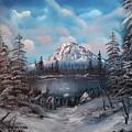 Mount Hood Oregon by Larry Hamilton