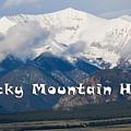 Mount Princeton In The Collegiate Peaks Wilderness by Steve Krull