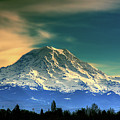 Mount Rainier by David Patterson