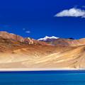 Mountains And Rocks Pangong Tso Lake Leh Ladakh Jammu Kashmir India by Rudra Narayan  Mitra