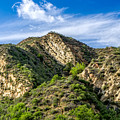Mountains At Towsley Canyon In Southern California by Ken Wolter