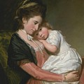 Mrs Johnstone And Her Son by George Romney