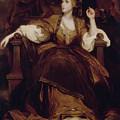 Mrs. Siddons As The Tragic Muse by Joshua Reynolds