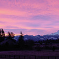 Mt Rainier Frosty Sunrise by Shirley Heyn