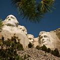 Mt Rushmore II by Mike Oistad