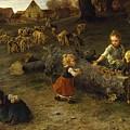Mud Pies by Ludwig Knaus