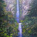 Multnomah Falls by Mary  Leiseth