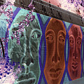 Mural Faces by Jim Corwin