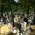 Music In The Tuileries by Edouard Manet