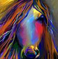Mustang Horse Painting by Svetlana Novikova