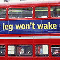 My Leg Went To Sleep In London by Carl Purcell