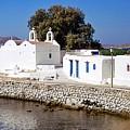 Mykonos Church by John Hughes