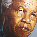 Nelson Mandela by Kenneth Kelsoe